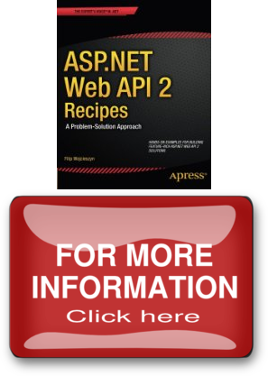 asp.net web api 2 recipes a problem-solution approach pdf